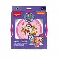 Playtex Mealtime Paw Patrol Plates for Girls 2 Pack