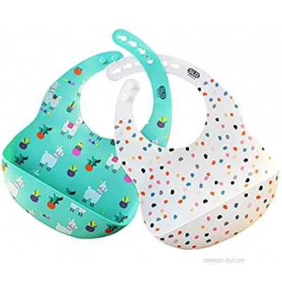 Silicon Bibs modern design unisex for toddler baby boys & girls with food stasher flexible ,soft and adjustable comfortable stain resistant mess puff Suitable for dishwasher