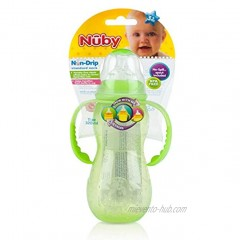 Nuby Non-Drip 3-Stage Grow Nurser 11 Ounce Colors May Vary