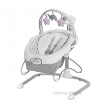 Graco Soothe 'n Sway LX Baby Swing with Portable Bouncer Camila