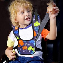 Child Seat Belt Adjuster for Kids Adjustable Car Seatbelt Protector Soft Auto Seat Belt Cover Universal Safety Travel Harness Locking Covers for Toddler Baby Short People Gift for Children