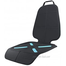 Car Seat Protector for Baby Child Car Seats Shynerk Auto Seat Cover Mat for Under Carseat to Protect Automotive Vehicle Leather and Cloth Upholstery Waterproof and Dirt Resistant for SUV Sedan