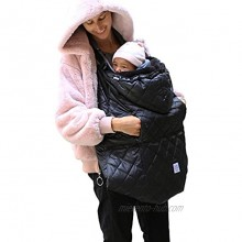7AM Enfant Winter Baby Carrier Cover K-Poncho 3 in 1 Universal fit for Ergobaby 360 Babybjorn Mini Lillebaby Ergonomic Carrier Baby Bunting Bag for Car Seats and Strollers Grows with Child