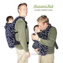 Stroller Cover and Baby Carrier Cover. Double Fleece Winter Cover Fits Onto All Carriers & Strollers. Adjustable with Hoodie. 5-in-1 Multipurpose. Grey