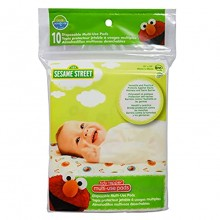 Neat Solutions Sesame Street Multi-Use Pads 10 Count