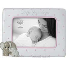 Precious Moments Elephant Love at First Sight Ultrasound 4 x 6 Resin & Glass 183407 Photo Frame One Size Multi