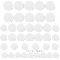 Iceyon 40pcs Rattles 18 22 25 27mm Noise Maker Insert Rattle Toy Rattle Box Repair Fix for Baby Pet Dog