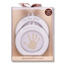 Carters My First Hand and Foot Print Kit Silver Discontinued by Manufacturer