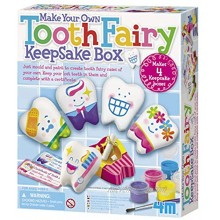 4M Make Your Own Tooth Fairy Keepsake Box Arts and Crafts for Girls and Boys