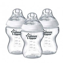 Tommee Tippee Closer to Nature Baby Bottle Flow 9 Ounce 3 Count