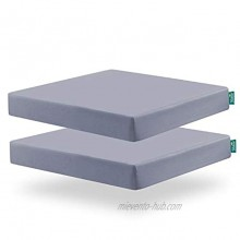 Square Playard Playpen Fitted Sheets Perfect for New Room2 TotBloc Portable Playard 2 Pack Ultra Soft Microfiber Fitted Playpen Sheet Grey.