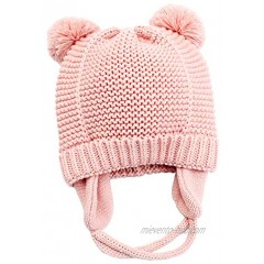 Paladoo Baby Hat with Cute Earflap Warm Fleece Lining 0-36 Months Winter