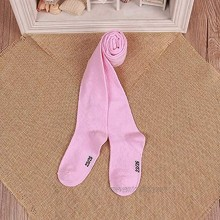 GLBS Soft Cotton Knitting Baby Girl Tights Keep Warm Spring Fall Newborn Tights Winter Comfortable Baby Leggings Color : Pink Size : XS