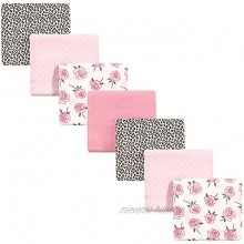 Little Treasure Unisex Baby Cotton Flannel Receiving Blankets Rose Leopard 7-Pack One Size