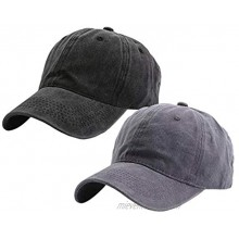 Eohak Kids Distresed-Washed Baseball Hat Infant Toddler Baby Boy Girl Hats Distresed for 3-8 Years