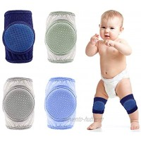 Baby Knee Pads for Crawling 4 Pairs,Infant Crawling Anti-Slip Knee,Protector Knee Pads for Toddler