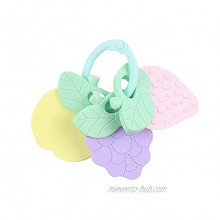 Baby Fruit teether molars Mother and Baby Toys Multicolor